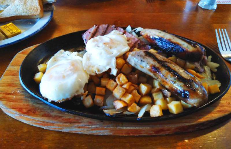 Sizzling Pub Breakfast