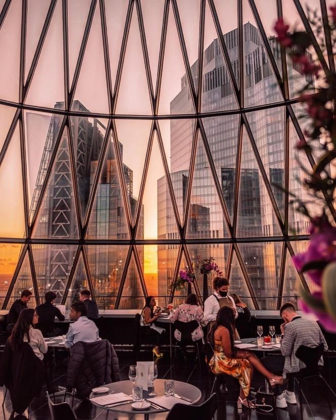Searcys brunch with a view london