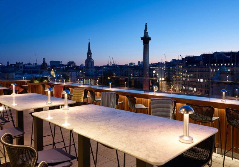 rooftop brunch london