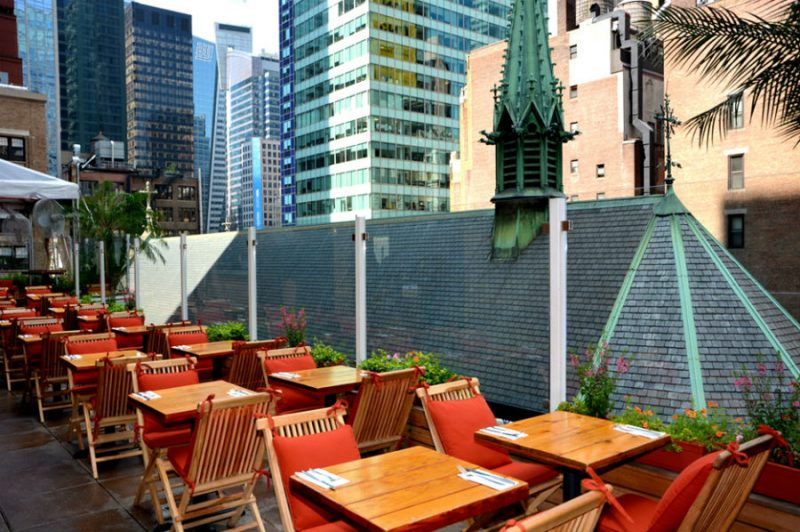 bottomless rooftop brunch nyc