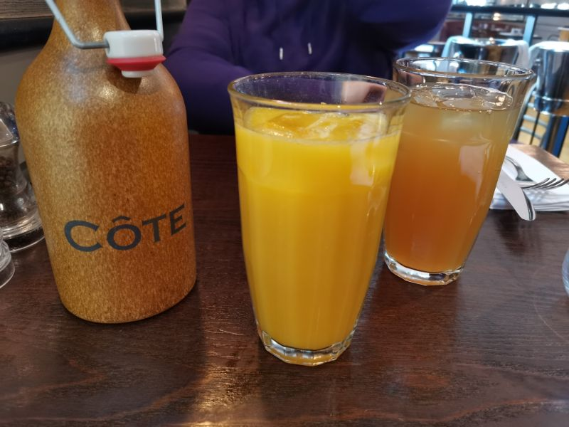 cote brunch review