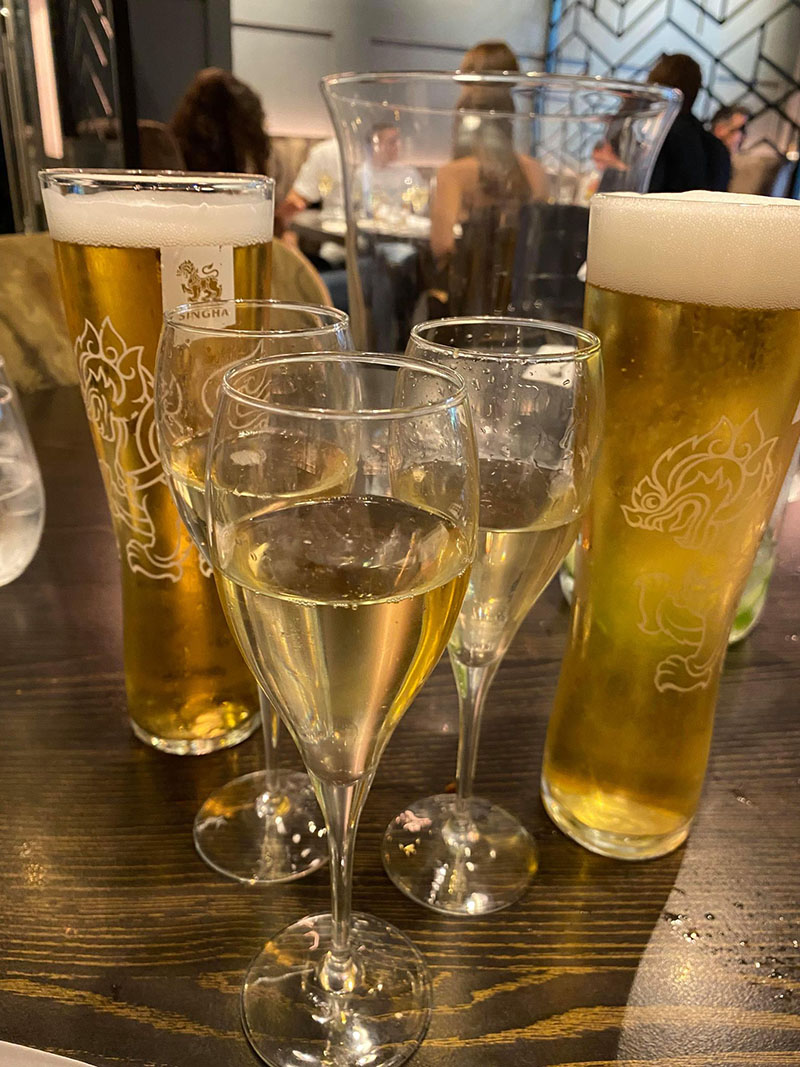Bottomless Brunch at Yum-Sa in Putney, London